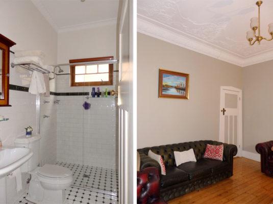 Aberfeldie Interior House Painting Living Bathroom