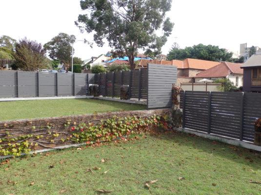 Yarraville Fence Sprayed Finish1