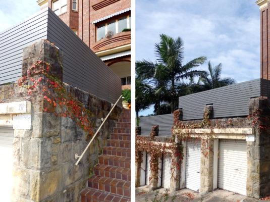 Yarraville Fence Sprayed Finish2