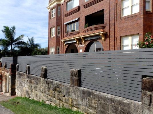 Yarraville Fence Sprayed Finish4