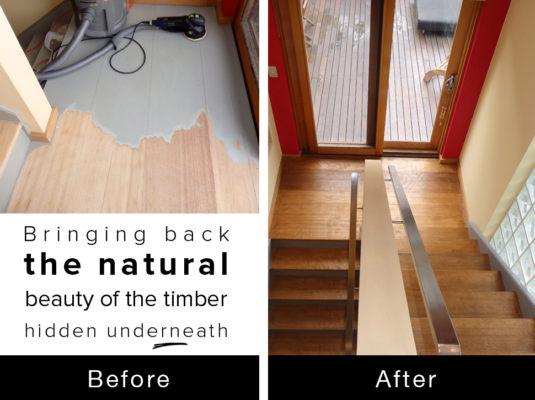 Maribyrnong Timber treatment 1