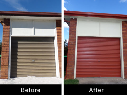 Roller Door Spray  Paint Ascot Vale VIC1